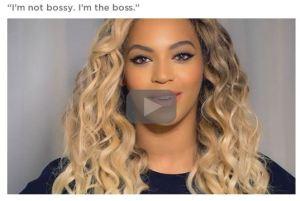 Headshot of celebrity singer, Beyonce