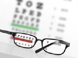 Vision - glasses and chart