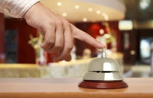 hotel service concierge bell